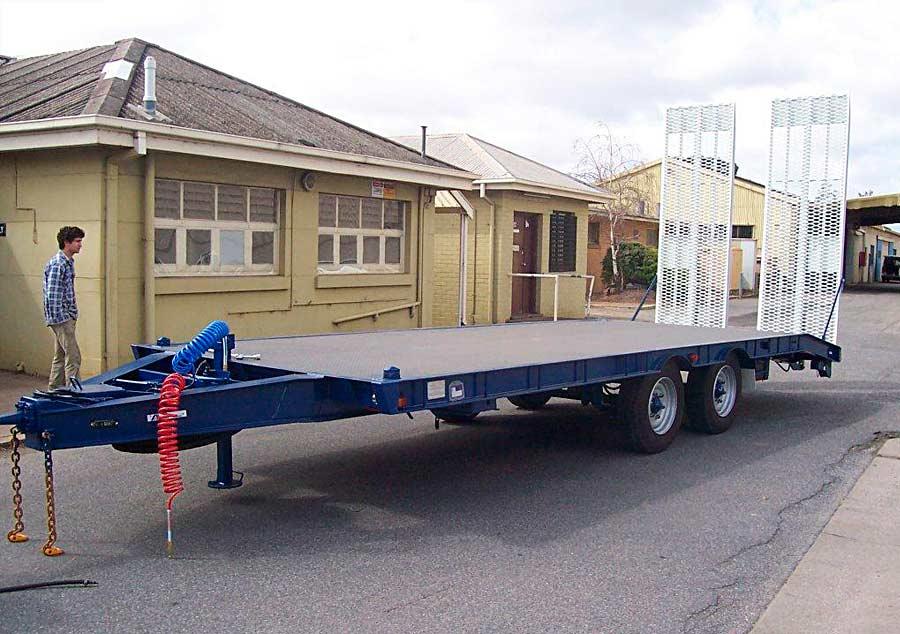 10t plant trailer