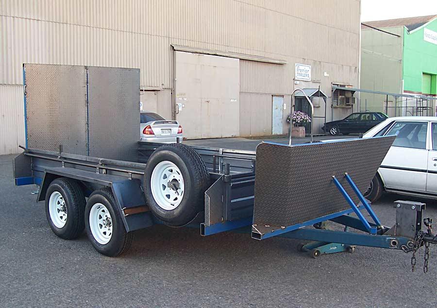 10x6 quad bike trailer pre-galvanising