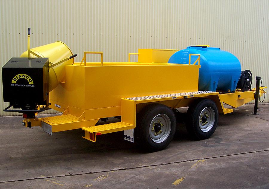 6t concrete maintenance trailer