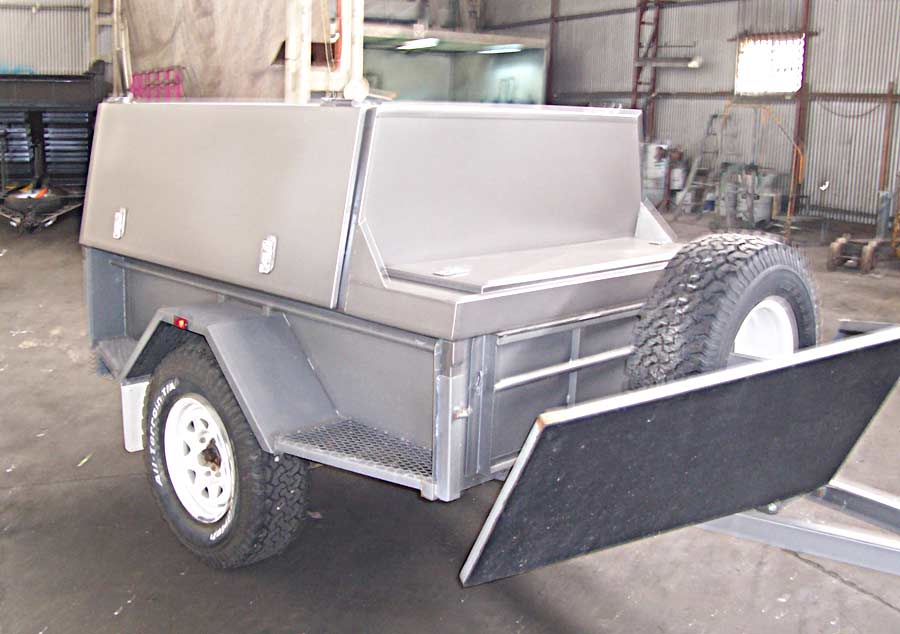 7x5 off road camper trailer